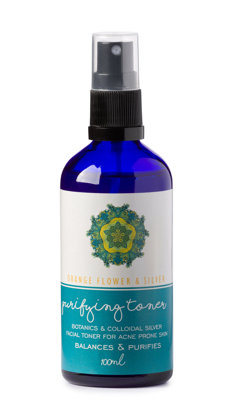 Orange Flower & Silver Purifying Toner