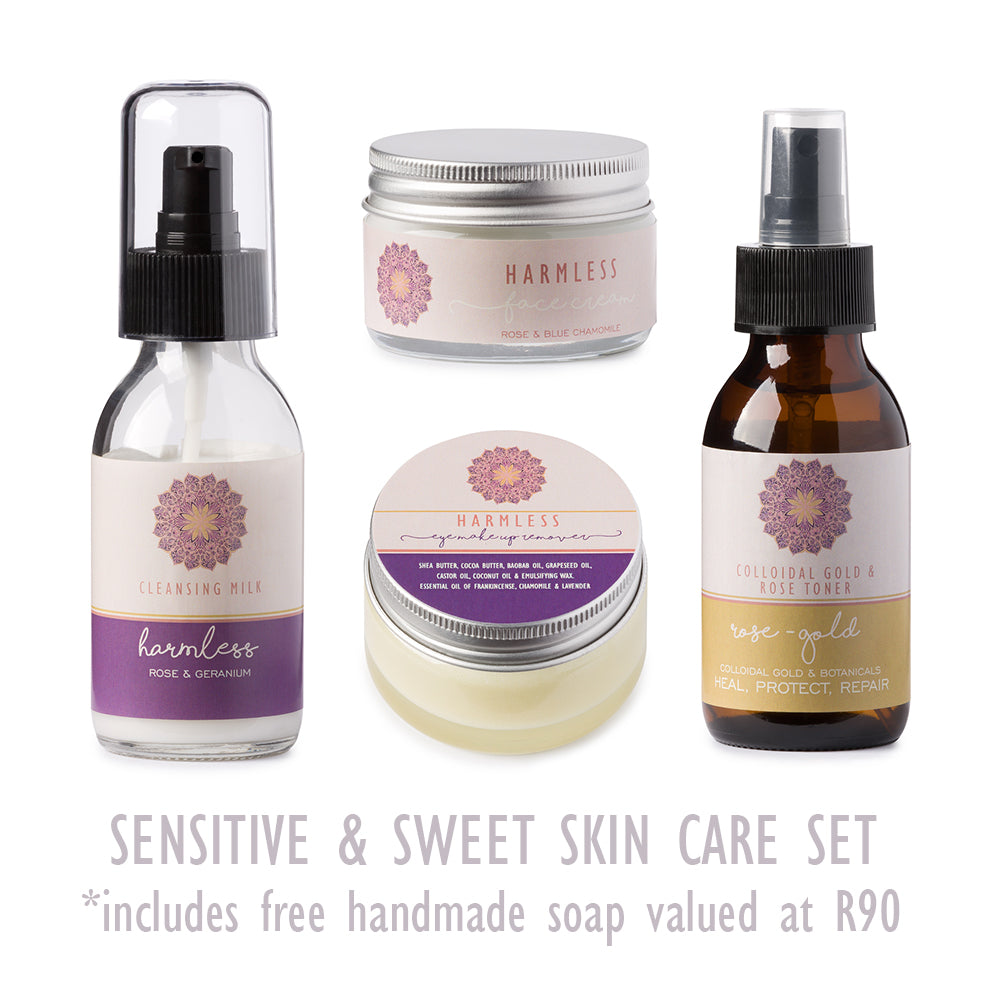 Sensitive & Sweet Skin Care Set