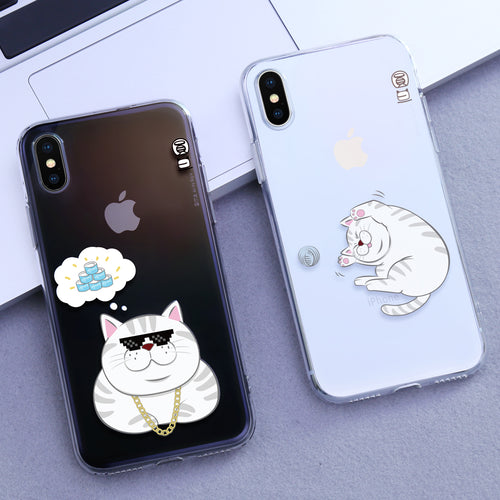 Peggy TPU phone case for iPhone X