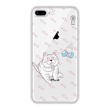 Eggy transparent TPU phone case