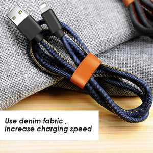 IOS denim fabric  Data Cables