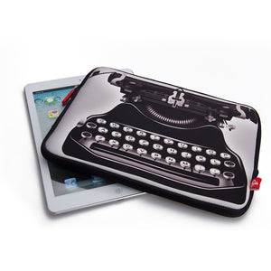 Retro style laptop bag