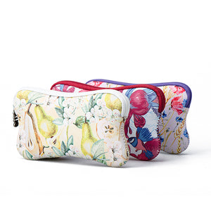 Flower phone bag zipper bag