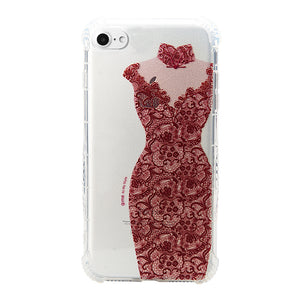 Dress series TPU phone case