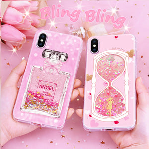 Bling bling Quicksand Phone case for iPhone X