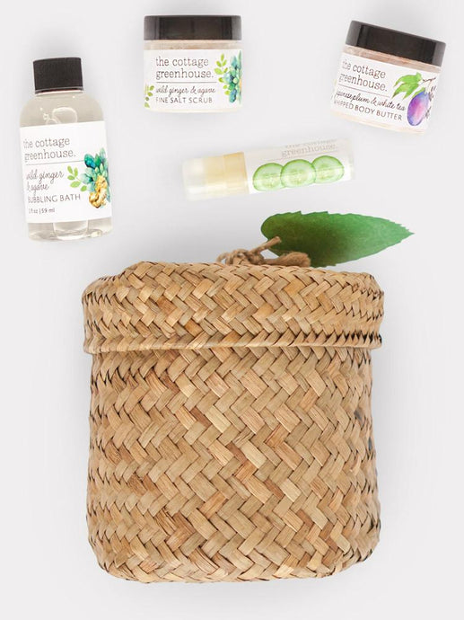 Herbs & Tea Spa Gift Set