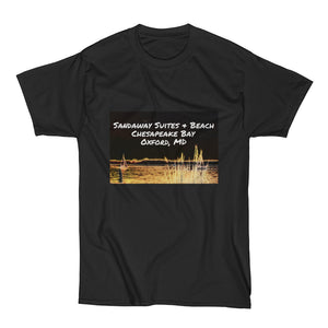Sandaway Sunset with Enhanced Light - Men's Short Sleeve T-Shirt