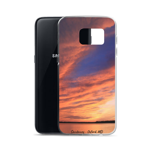 Sandaway Sunset - Oxford, MD - Samsung Case