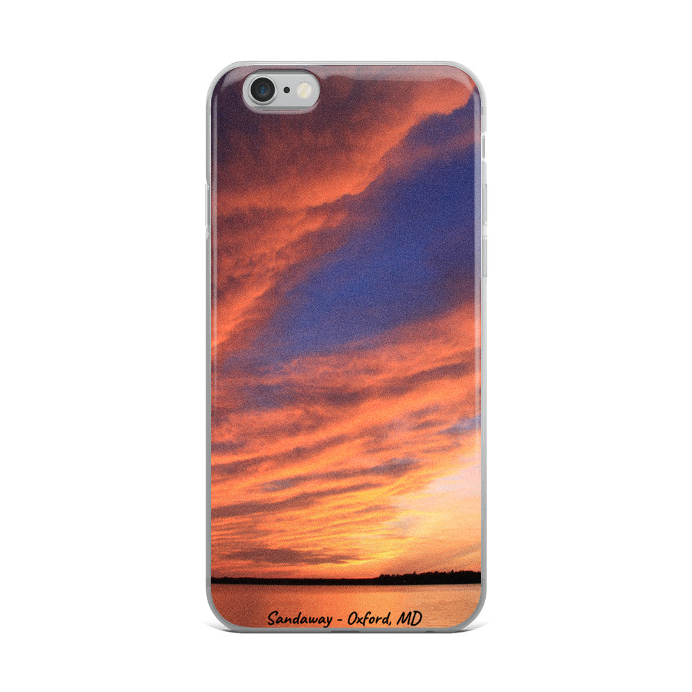 Sandaway Sunset - Oxford, MD - iPhone Case