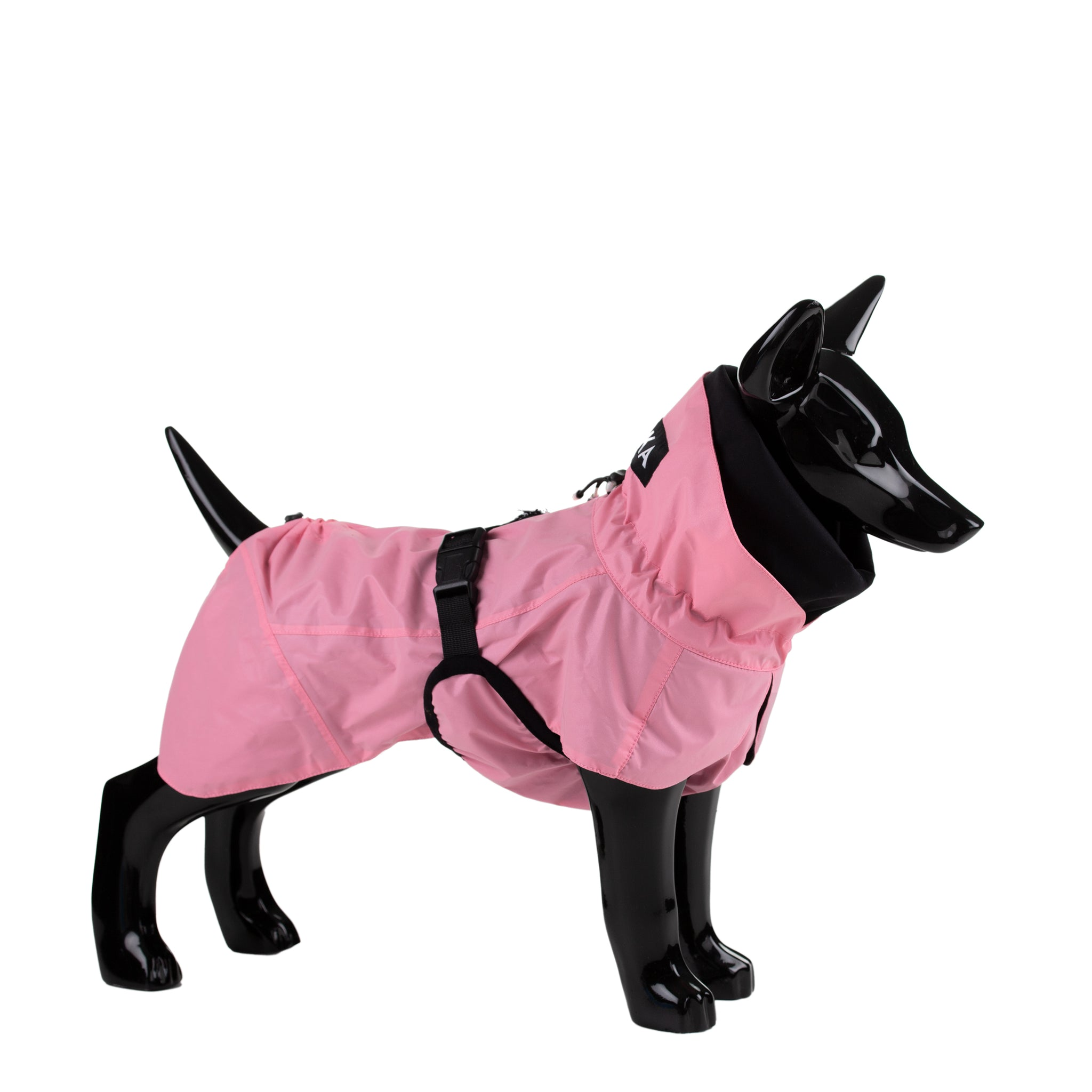 Visibility raincoat for dog