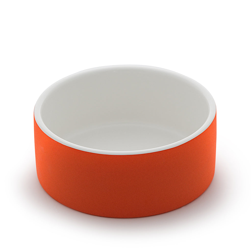 Soak-to-cool Water Bowl Large, Tangerine