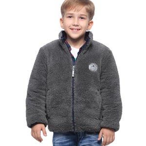 Back to School Sale-Boys' Lightweight Reversible Puffer Jacket