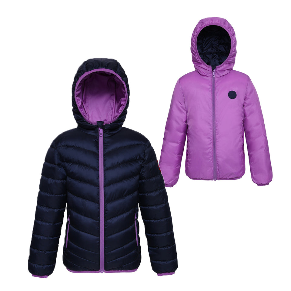 Back to School-Rokka & Rolla Girls' Lightweight Puffer Jacket