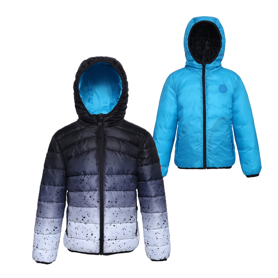 Back to School-Rokka & Rolla Boys' Lightweight Puffer Jacket