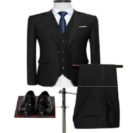 New Formal Solid Color Men Slim-fit Dress suit - HAFIVE