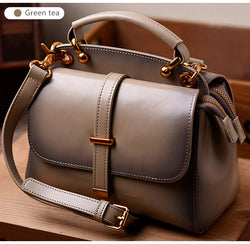 Leather Women Luxury Handbag - HAFIVE