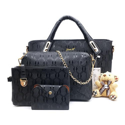 Leather Fashion Designer Handbags - 4 Bags Set - HAFIVE
