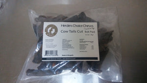 Herders Choice Chews Dried Cow Tails Bulk Pack 2.2 lb. (1kg)  Retail