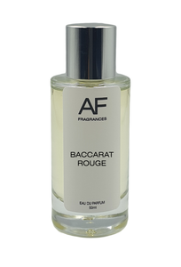 MFK Baccarat Rouge - AF Fragrances, Attar, Oud, Musk, Perfume, Premium quality
