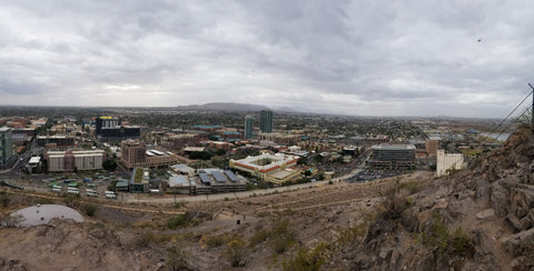 ic: The view from the top of A Mountain in Tempe