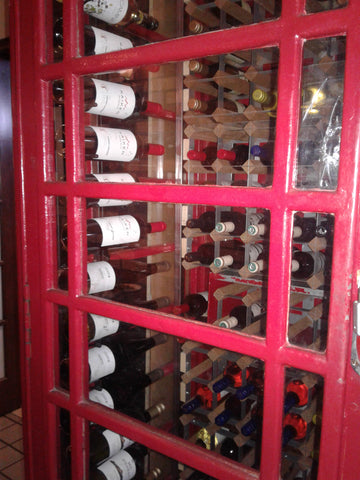 ic: Phone Booth Wine Cellar!