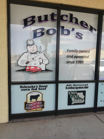 ic: Outside of Butcher Bob's