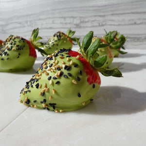 Green Tea Strawberries