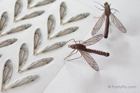Hemingways Realistic Crane Fly Wings by Frostyfly