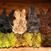 Dyed Grade #1 Hare's Masks