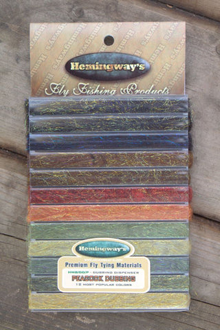 Hemingways Peacock Dubbing Dispenser by Frostyfly