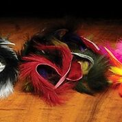 Hareline Natural and Dyed Rabbit Strips 1/8""