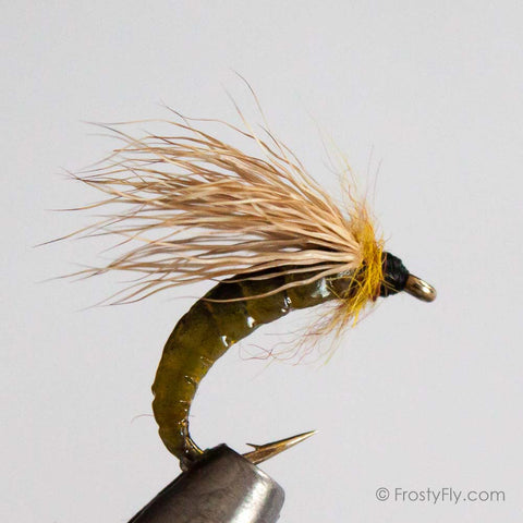 Silicone Caddis Pupa Bodies With Hooks By Frostyfly