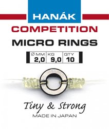 Hanak Competition Micro Rings 10 Pack