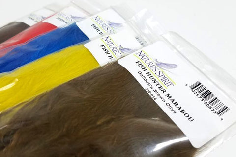 Natures Spirit Fish Hunter Spey Marabou1/4 Oz Pack