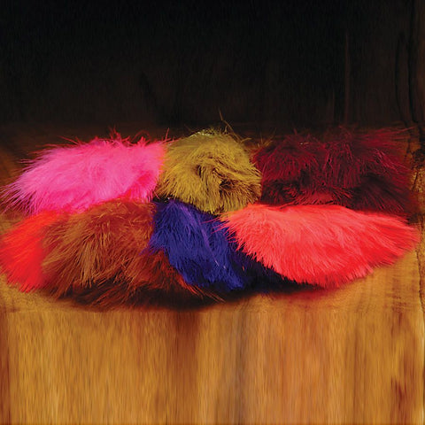 Strung Marabou Blood Quills Pound Pack
