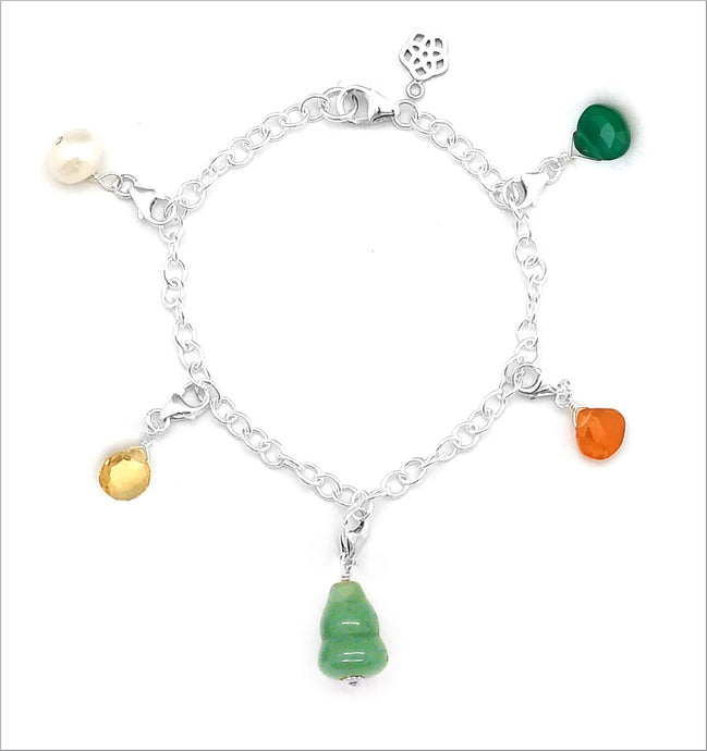 Happiness Gourd Charm Bracelet