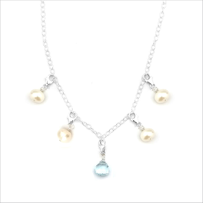 Classic Birthstone ~ Five Charms (Necklace)