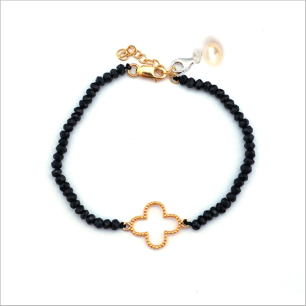 Lucky Clover - Black Spinel