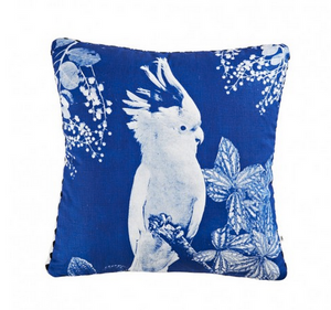 Big Major Blue Cushion by Bonnie and Neil 50cm