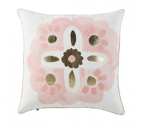 Aegean Pink Cushion by Bonnie and Neil 50cm