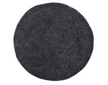 Felt Seat Cushion by HK LIVING in Charcoal