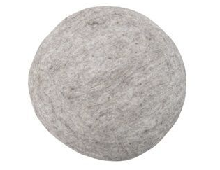 Felt Seat Cushion by HK LIVING in Grey Marle