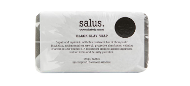 Black Clay Soap By Salus Body