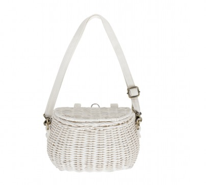 Minichari Bag in White by Olliella
