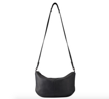 At A Loss Black Leather Bag by Status Anxiety