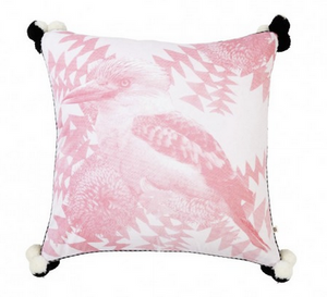 Banksia Kooka Dusky Pink Cushion  by Bonnie and Neil