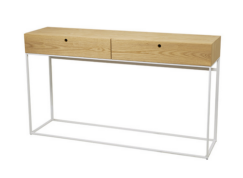 Siena Console in Natural Oak