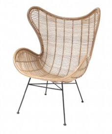 Rattan Egg Chair Natural by HK Living