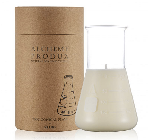 Alchemy 230g Conical Flask Candle Lychee and Black Tea