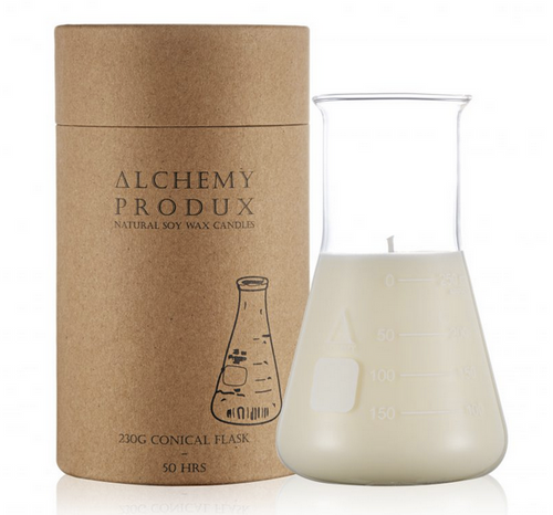 Alchemy 230g Conical Flask Candle Yuzu